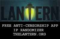 the lantern free ant- censorship app